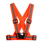 Reflective Vest Adjustable Comfortable Elastic Ribbon Hot Practical Brand New