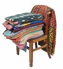 Indin 5 pc of Lot Handmade Vintage Qulit Bedding Coverlets