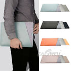 Laptop Notebook Leather Sleeve Bag Case Cover For MacBook Ai