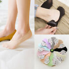 EP  1Pair Women Low Cut Socks No Show Invisible Liner Loafer Nonslip Boat Socks