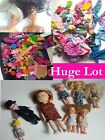 2 Barbies Hug Lot of ACCESSORIES and Clothes Vintage to Modern barbie kids RHTF
