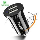 New Dual USB Car Charger For Samsung iPhones Xiaomi Lenovo  Universal 2.4A 5V