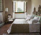Signoria Firenze Monna Lisa King Quilted Coverlet - Flax