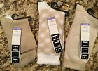 NWT HUE LOT OF THREE PAIRS OF WOMENS SOCKS ~  ONE SIZE ~