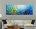 Hand Painted Canvas Oil Painting Wall Art Landscape  Colorful Forest 11