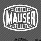 Mauser Firearms Hunting/outdoor Sports Decal Sticker - Choose Color/size