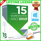 VMWARE WORKSTATION 15 PRO 🔑 LIFETIME LICENSE 🔑 + 2018 + FAST EMAIL DELIVERY 📩