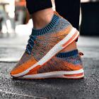 Mens Tennis Shoes Athletic Running Sneakers Knit Collar Casual Walking Gym Hot S