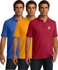 Star Trek Golf Polo Shirt - Embroidered -  3 colors - Sm thru 6XL on eBay