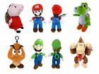 Super Mario Plush Coin Bag Purse Peppa Pig Luigi Yoshi Golmb