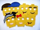 Lego Birthday party favor masks party bags costume decor dec