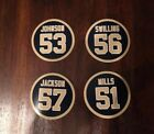 Dome Patrol New Orleans Saints Magnets - 2.75 inch - Jackson, Swilling, Mills et