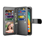 For Motorola Moto E5/Play/Plus/Cruise/Supra Wallet Flip Leather Card Holder Case