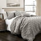 Lush Decor Ravello Pintuck Comforter 5 Piece Set