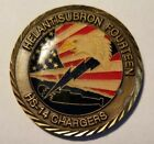 """HS -14 """"CHARGERS"""" Navy Helicoper Squadron CPO Chief Challenge COIN **RARE**"""