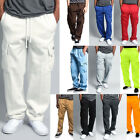 G-Style USA Men's Jogger Heavy Weight Fleece Cargo Pocket Sweat Pants - FL77