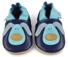 Beautiful Soft Leather Baby Shoes - Crib Shoes with Suede So