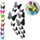 12pcs 3d Wall Stickers Butterfly Fridge Magnet For Wedding Home Room Decoration