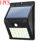 4pcs 30LED Solar Power Light Motion Sensor PIR Garden Outdoor Security Wall Lamp