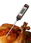 Food Thermometer Digital Instant Read with Stainless Steel Probe Cooking Fosmon