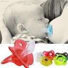 27E0 Silica Gel Nipple Colorful Funny Baby Soother Pacifier Pacified Sleep Calm