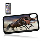 ( For iPhone XS MAX ) Back Case Cover P11485 Horse