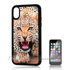 ( For iPhone XS MAX ) Back Case Cover P11242 Leopard