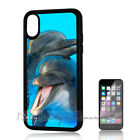 ( For iPhone XS MAX ) Back Case Cover P11311 Dolphin