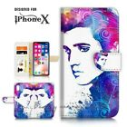 ( For iPhone XS MAX ) Wallet Case Cover P21507 Elvis Presley