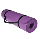 THICK FOAM EXERCISE Yoga Mat Gym Workout Fitness Pilates Pad Carrying Strap