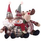 Внешний вид - Christmas Gift Santa Claus Snowman Ornament Festival Party Xmas Table Decor Doll