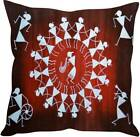 Dancing Girl Red Cushion Cover Pillow Case Sofa Living Bed Room Home Decor