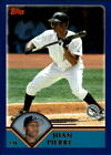 2003 Topps Traded 1-250 Finish Your Set