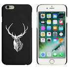 Black  'Stag Head' Case / Cover for iPhone 6 & 6s (MC00026941)