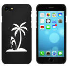 Black  'Surf Island' Case / Cover for iPhone 7 (MC00057835)