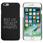 Black  'Best Friends Always' Case / Cover for iPhone 6 & 6s (MC00035673)