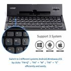 Portable Foldable Folding Wireless Mini Bluetooth Keyboard For iPhone PC Tablet&