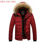 Men Fit 25 C Brand Winter Jacket 2018 Parka Coat Down Keep Warm Fashion M 6XL