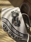 vintage Tie OLYMPIC MISHA BEAR Olympiad GAMES MOSCOW 1980 Soviet Rusian USSR