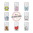 BTS BT21 iPhone 7/8/X Clear Jelly Case Cover Official K-Pop Authentic Goods
