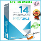 VMWARE WORKSTATION 14 PRO 🔑 LIFETIME LICENSE 🔑 + 2018 + FAST EMAIL DELIVERY 📩