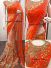 Saree Indian Sari Designer Silk Blouse Pakistani Wear Wedding Hr Sc Ma
