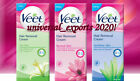 40 Pcs Veet Easy Grip Ready-to-Use Wax Strips Choose your[Normal Sensitive Dry]