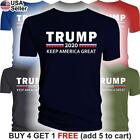 Donald Trump 2020 T-Shirt Keep America Great For President MAGA Make Again USA image