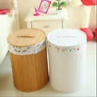 Bamboo Laundry Basket Hamper