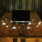 USB POWERED LED FAIRY LIGHTS XMAS CHRISTMAS PC LAPTOP MAC + 2M CABLE COOL WHITE