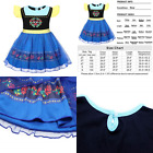 Cotrio Anna Dress Up Princess Fantasy Nightgowns Sleepwear D