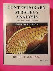 Contemporary Strategy Analysis: Text and Cases by Robert M. Grant International