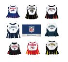 NFL Pet Cheerleader Dress XSM - Med Size Multiple Teams U PICK $19.99 USD on eBay