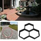 Hexagon Plastic Honeycomb Paver Mold Concrete Stone Stepping Cement Brick LOT US